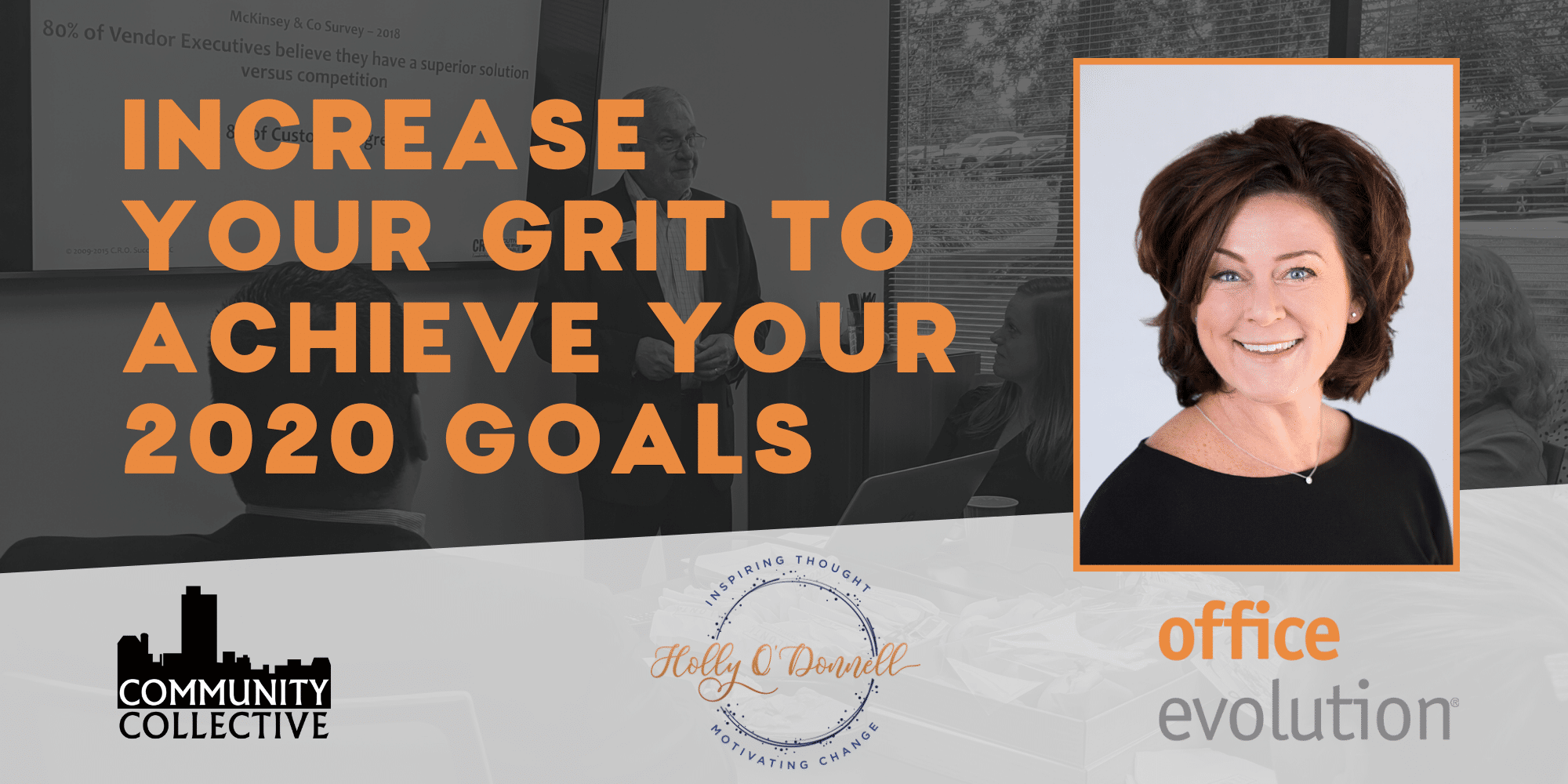 Lunch & Earn: Increase Your Grit to Achieve Your 2020 Goals